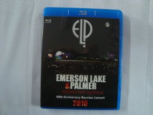 Blu-ray Emerson Lake and Palmer - Welcome Back my friends - 2010