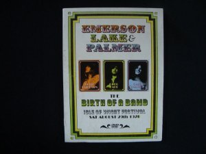 DVD Emerson Lake and Palmer - The Birth of a Band - 1970