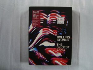 DVD The Rolling Stones - The Biggest bang - Quádruplo - Importado