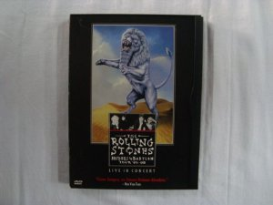 DVD The Rolling Stones - Bridges to Babylon - Live Tour