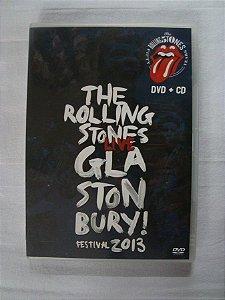 DVD The Rolling Stones - Glastonbury Festival 2013 duplo