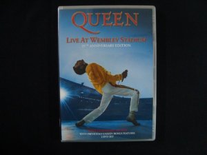 DVD Queen - Live at Wembley Stadium - Duplo