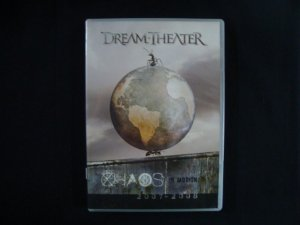 DVD Dream Theater - Chaos in Motion 2007 - 2008 - duplo
