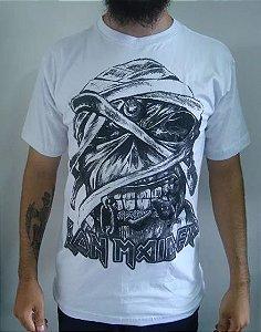 Camiseta Iron Maiden - Eddie - Branca