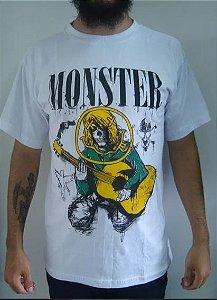 Camiseta Nirvana - Kurt - branca