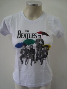 Baby look The Beatles - Guarda - Chuva