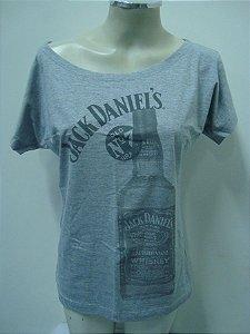 Blusinha gola canoa - Jack Daniel's