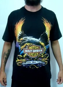 Camiseta Harley Davidson - Legends are Forever