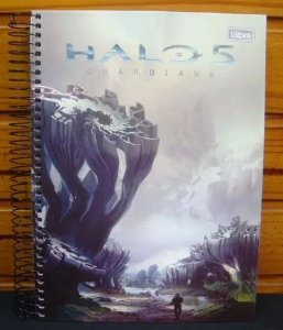 Caderno escolar - Halo 5