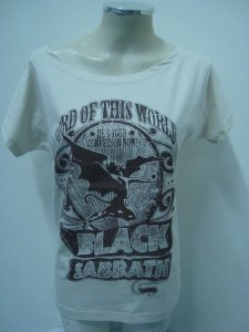 Blusinha gola canoa - Black Sabbath - Lord of this world