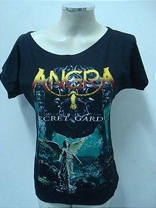Blusinha gola canoa Angra - Secret Garden