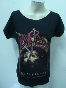 Blusinha gola canoa - Slayer - Repentless