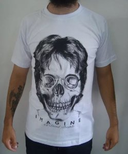 Camiseta John Lennon - Imagine all dead people