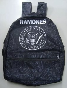 Mochila Escolar - Ramones