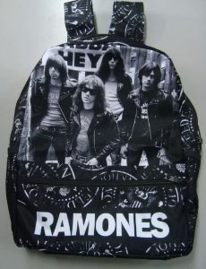 Mochila Escolar - Ramones - Banda