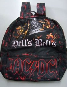 Mochila Escolar - AC DC - Hells Bells