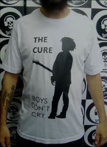 Camiseta The Cure - Boys don't Cry