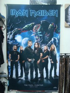 Bandeira Iron Maiden - The Final Frontier - Banda