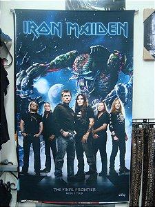 Bandeira Iron Maiden - The Final Frontier - Banda