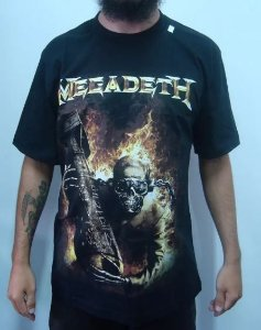 Camiseta Megadeth - Arsenal of Megadeth