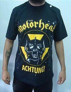 Camiseta Motorhead - Achtung!
