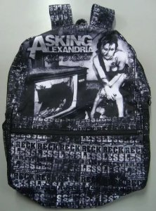 Mochila Escolar Asking Alexandria - Reckless and Relentless