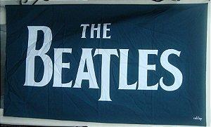 Bandeira The Beatles - preta