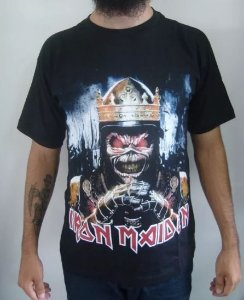 Camiseta Iron Maiden - Eddie the Head