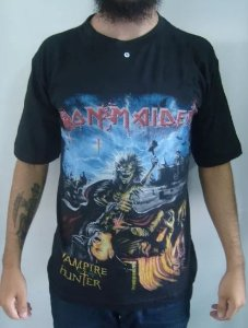 Camiseta Iron Maiden - Vampire Hunter