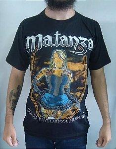 Camiseta Matanza - Odiosa Natureza Humana