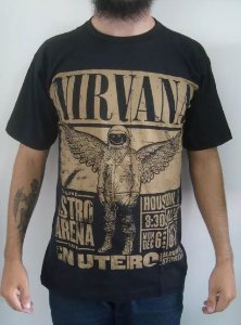 Camiseta Nirvana - Live Astro Arena