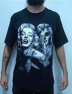 Camiseta Marilyn Monroe Catrina