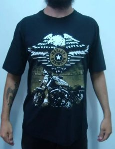 Camiseta Harley Davidson - Sportster 883 - Army