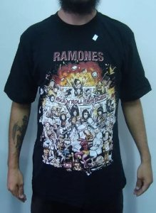 Camiseta Ramones - Rock and Roll High School
