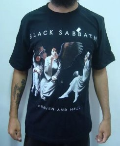 Camiseta Black Sabbath - Heaven and Hell