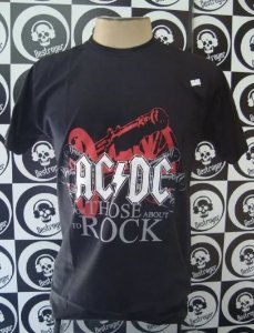 Camiseta AC DC - For Those About to Rock