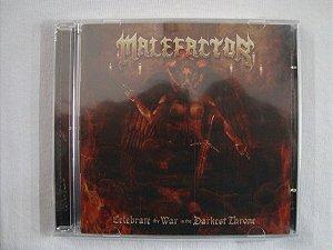 CD Malefactor - Celebrate thy war in the darkest throne