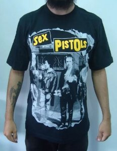 Camiseta Sex Pistols - Nevermind the bollocks