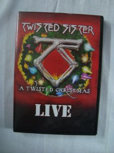 DVD Twisted Sister - A twisted Christmas - Live