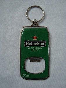 Chaveiro Abridor de Garrafa - Heineken