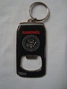 Chaveiro Abridor de Garrafa - Ramones