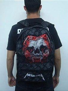 Mochila escolar Metallica - XXX