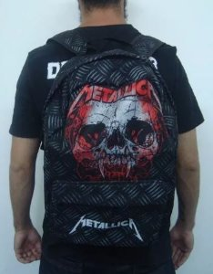Mochila Escolar - Metallica