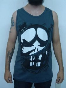 Camiseta Regata - Justiceiro - Punisher