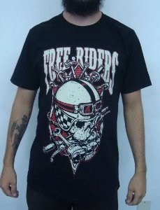 Camiseta Custom - Free Riders