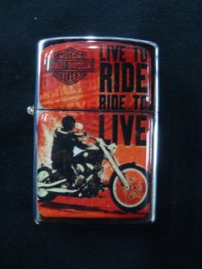 Isqueiro - Harley Davidson - Live to Ride
