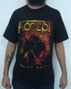 Camiseta Accept - Blind Rage