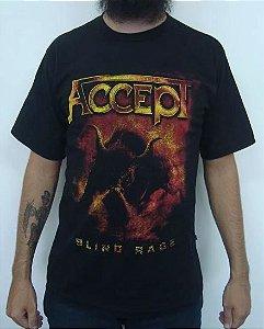 Camiseta Accept - Blind Rage