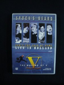 DVD Spock's Beard - Don't Try this at home - Live in Holland - Triplo Importado