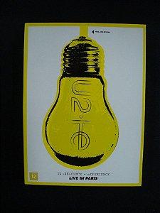DVD U2 - Innocence + Experience - Live in Paris - Duplo